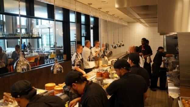 Kitchen Staff at Chroma