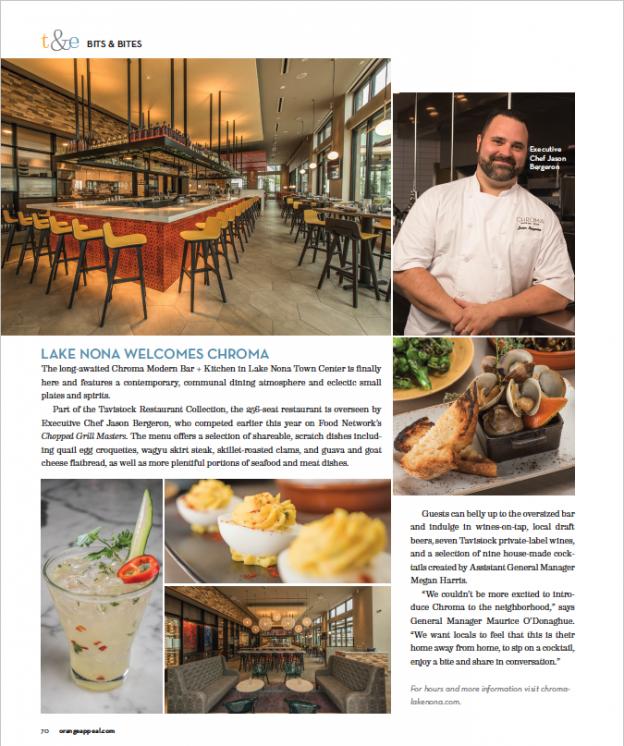 Chroma Modern Bar & Kitchen About Us
