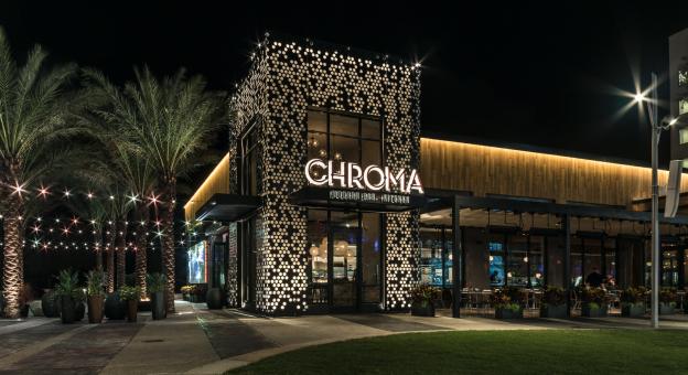 Chroma Modern Bar & Kitchen Exterior
