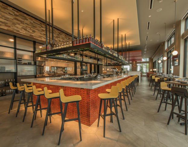 Bar Seating at Chroma Modern Bar & Kitchen