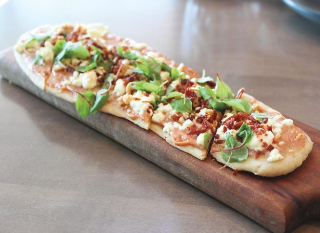 Guava and Goat Cheese Flatbread
