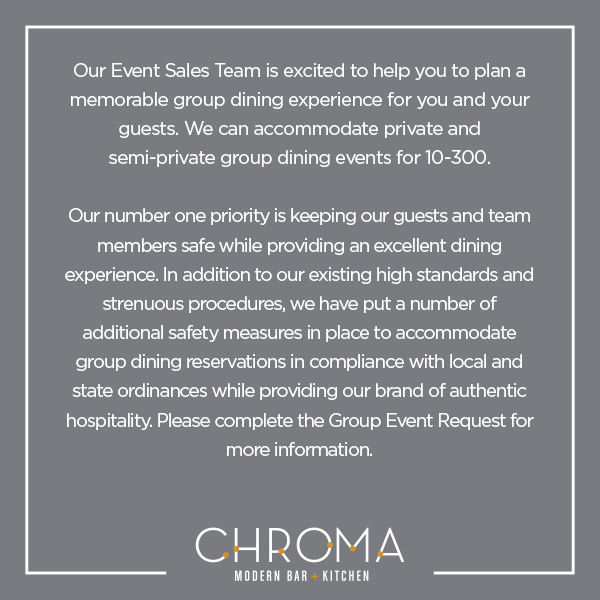 Chroma Group Dining